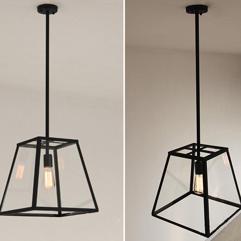 Large Pendant Lighting Antique Chandelier Kitchen LED Lamp
