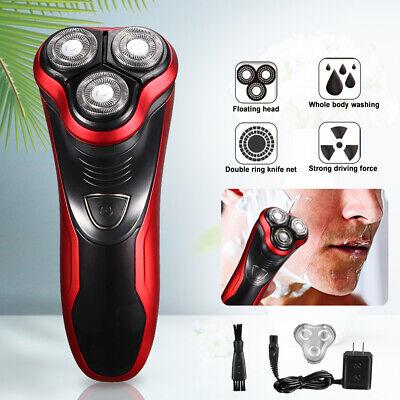 Men's Convenient Rotary Electric Razor Shaver W/ Pop-up Trimmer, Wet & Dry Razor