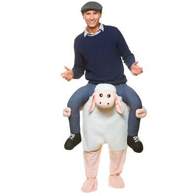 Carry Me Sheep Lamb Ride On New Fancy Dress Adult Farm Animal - Sheep Costume For Men