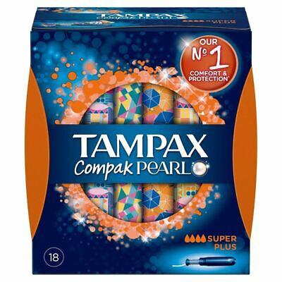 Compak Pearl Super Plus Tampón - Tampax - 18 Unidades