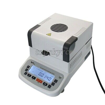 0.005-120g Moisture Analyzer 400W 220V LCD for Food Grains Industrial LGD-110A