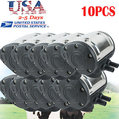 10pcs L80 Pneumatic Pulsator For Cattle Cow Milker Milking Machine Dairy Farm Us