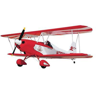 SIG Smith Miniplane Biplane RC Remote Control Airplane Balsa Wood Kit SIGRC38