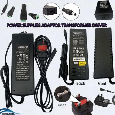 Plug AC100-240V DC 12V 1-10A Power Supply Transformer Adapter For LED Strip