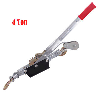 Come Along Hand Cable Winch Puller Hoist Hand Puller Cable 4 Ton 8000lb