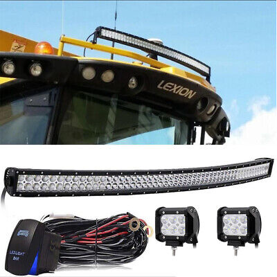 Offroad LED light bar Fit Lexion Claas 740 750 760 770 780 Combine harvester