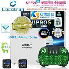 UBOX7 GEN7 UPROS 2G+32G Unblock Tech Cocotron 2019 最新越狱版安博盒子七代 5G WiFi TV BOX