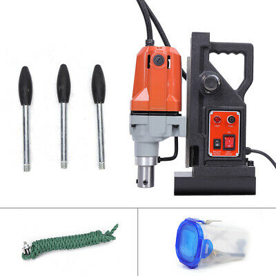 Md40 Magnetic Drill Press 2700lbs Magnetic Force Tapping 1-12 Boring 1.1kw Red
