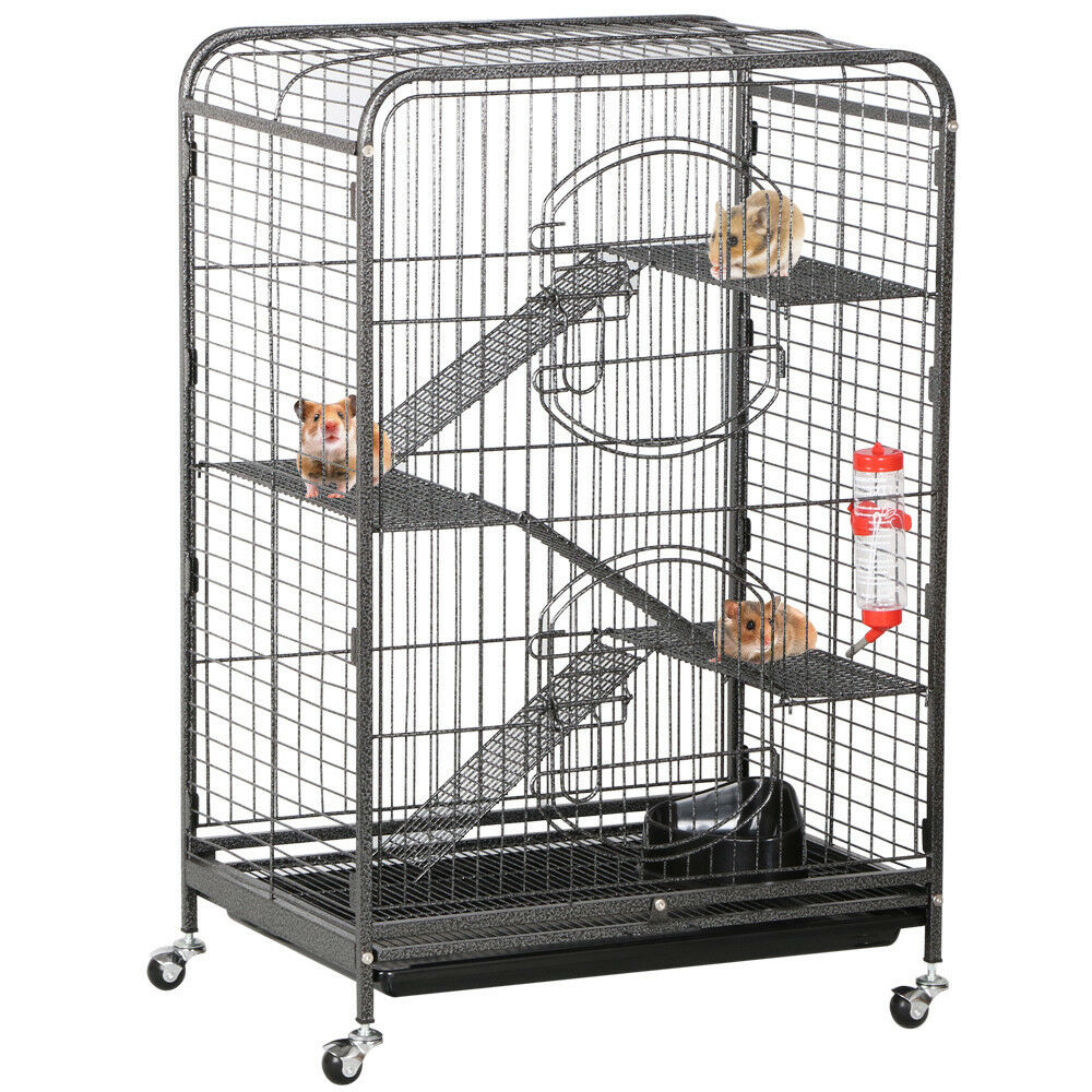 Ferret Cage Rabbit Guinea Pig Chinchilla Rat Small Animal House 37