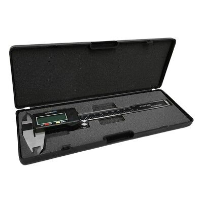 6 Inch Electronic Digital Caliper Stainless Steel With Lcd Screen Mminch