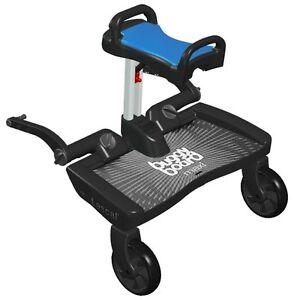 Lascal Buggyboard Saddle Blue Universal Seat For Pushchairs