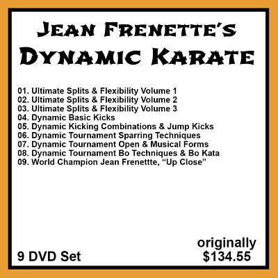 Jeans Frenette's Dynamic Karate Serie 9 DVD