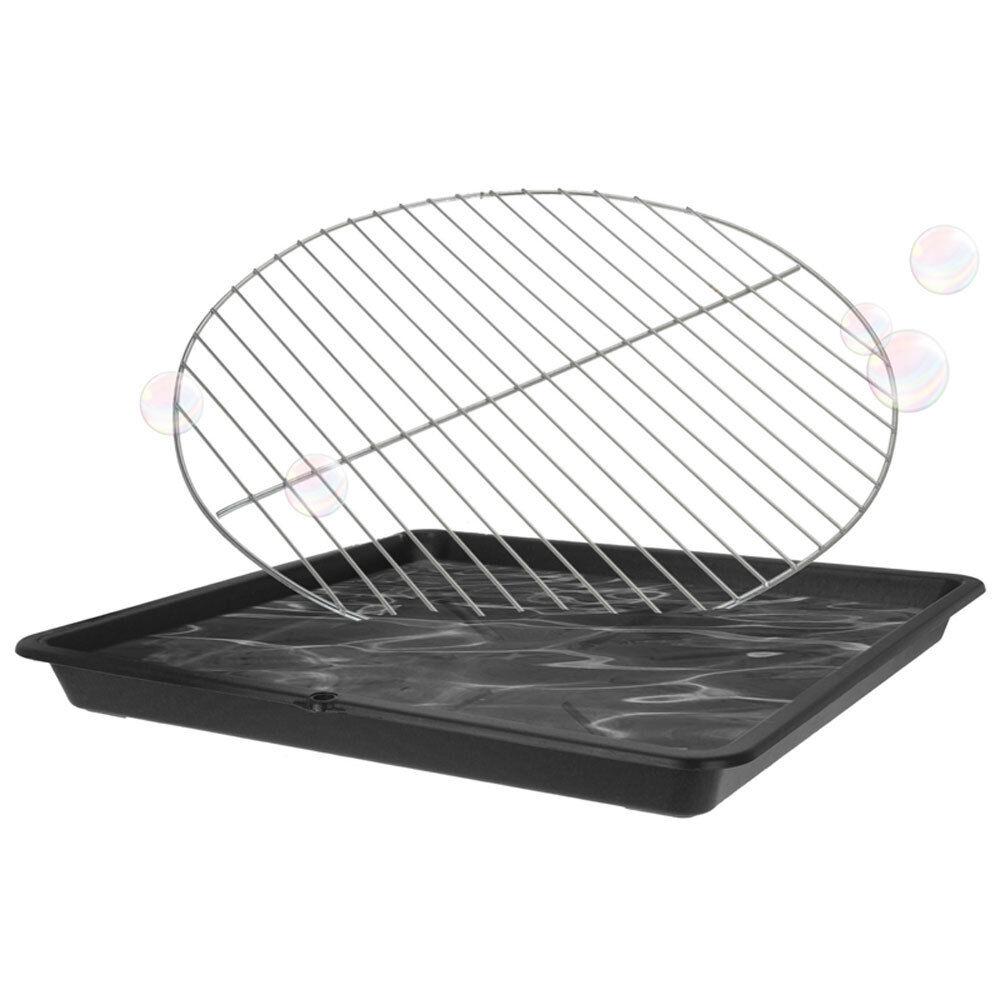 Grillrost-Reinigungs-Wanne Grillrostwanne Reinigungswanne Grill-Wanne BBQ