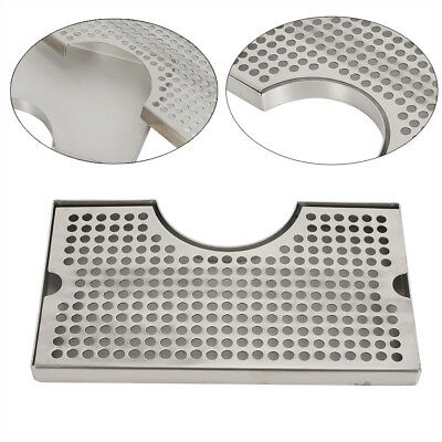 Polished Removable Kegerator Tap Draft Beer Drip Tray 304 Stainless Steel Sale