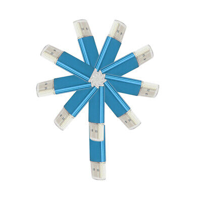 10Pack/20Pack Blue 1G 2G 4G 8G 16G 32G USB 2.0 Flash Drive Thumb Memory Storage  Blue Usb 20 Flash Drive