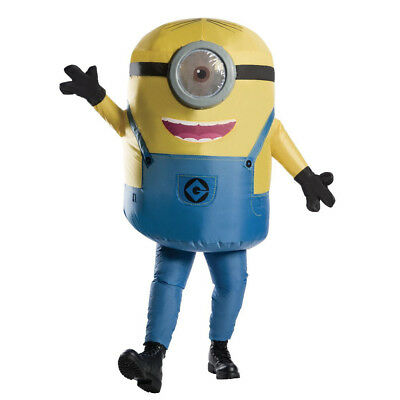 Adult Despicable Me Inflatable Minion Stuart Standard - Minion Costumes Adults