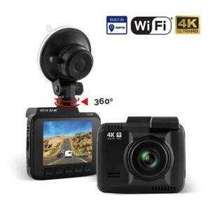 Rove R2-4K 2.4 inch UltraHD LCD Car Dash Cam - Black