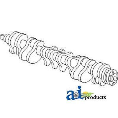 John Deere Parts Crankshaft At22562 710c 6095t Liter Designated 6.359t 6cyl E