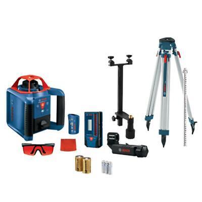 Bosch Grl900-20hvk 1000 Self-leveling Horizontal Vertical Rotary Laser Kit