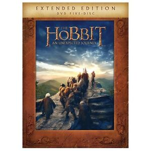 NEW The Hobbit-An Unexpected Journey Extended Edition (DVD + UltraViolet)