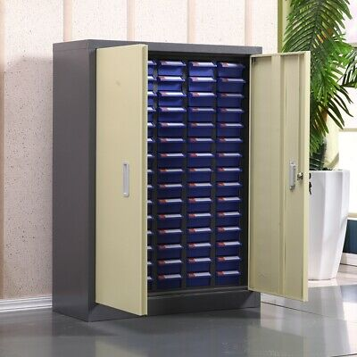 Bolt And Nut Tool Storage Cabinet Contains 75 Drawers Organization Shelves