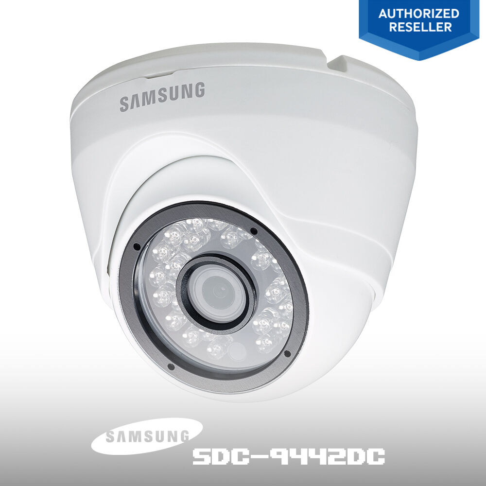 samsung sdc 9442dc 1080p fhd security system surveillance outdoor dome camera ebay. Black Bedroom Furniture Sets. Home Design Ideas
