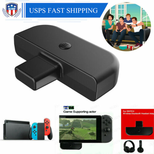 For Nintendo Switch PS4 PC Bluetooth Type-C Audio Transmitte
