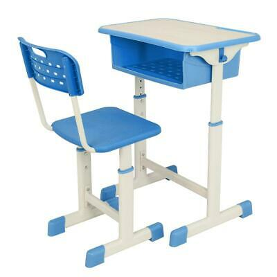 Hot Style Adjustable School Student Desk And Chair Set Child Study Furniture