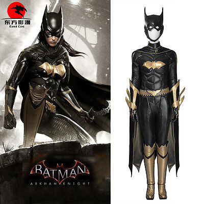 DFYM Batman Arkham Knight Batgirl Cosplay Costume Deluxe Leather - Batgirl Cosplay Costume