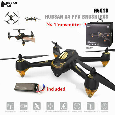 Hubsan XS H501S S Pro Drone FPV 5.8G 1080P RC GPS RTH Quadcopter BNF with Strong point