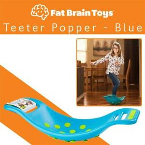 NEW Fat Brain Toys Teeter Popper - Blue Condtion: New