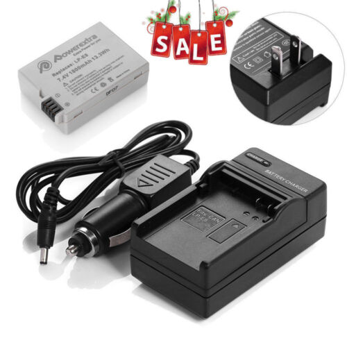 LP-E8 Battery + Charger For Canon Rebel T2i T3i T4i T5i Kiss X5 EOS 650D 550D