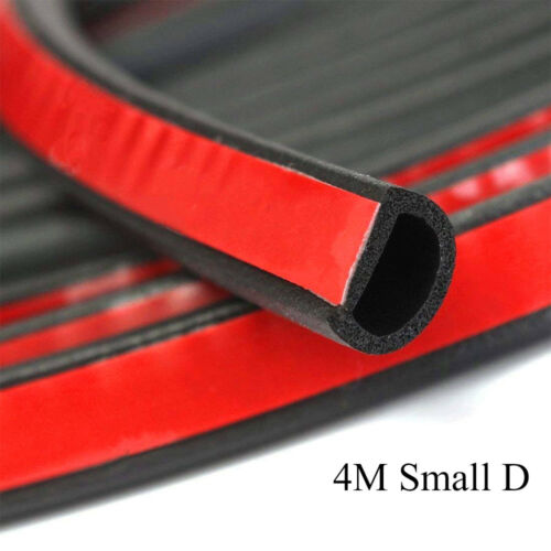 Car Parts - Weatherstrip Small D-shape Car Door window Rubber Weather Seal Strip Dust-proof