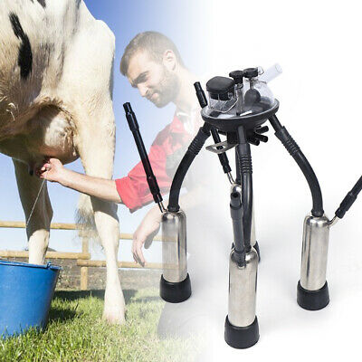 Cow Milking Machinemilker Claw Cluster 4ss Teat-cups Shells 240cc Cow Milking