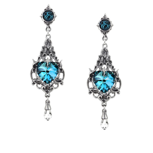 GENUINE Alchemy Gothic Earrings - Empress Eugenie | Ladies Fashion Jewellery