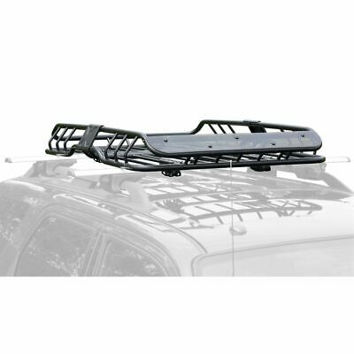 "47-1/4"" Roof Rack Basket Car Top Luggage Carrier & Wind Fairing"