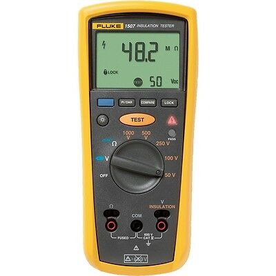 Fluke 1507 Digital Megohmmetertest Voltages Insulation Resistance Tester