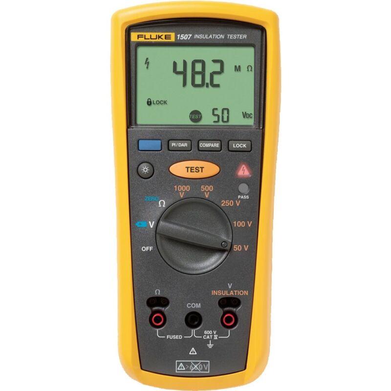Fluke 1507 Digital Megohmmeter,Test Voltages & Insulation Resistance Tester