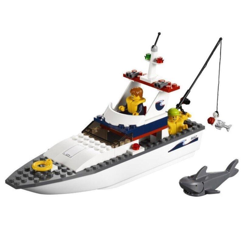 Lego fishing boat ebay for Ebay fishing boats