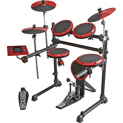 ddrum DD1 Electronic Drum Set Snare, Cymbals, Hi-Hat Controller Pedal and Pads on Rummage