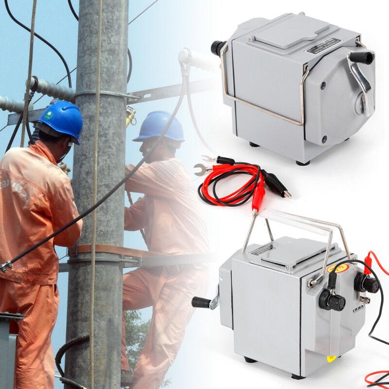 1000MΩ 1000V handle Megger Meter Insulation Tester Resistance Meter 120 RPM Test