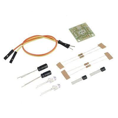 1pcs 5mm Led Simple Flash Light Simple Flash Circuit Diy Kit Ca New