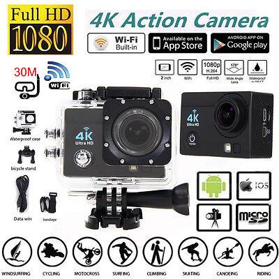SJ9000 4K Ultra Wifi Sport Helmet Action Camera 2.0