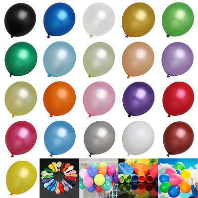 12 HeavyDuty Birthday Wedding Party Decoration Latex Helium Quality Balloons - Bridal Party Decorations