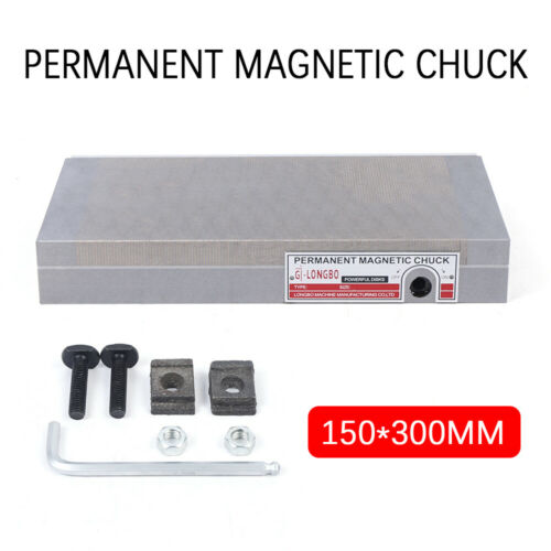 """6/""""X12/"""" Permanent Magnetic Chuck Magnetic Fine Pole High Quality Premium New"""