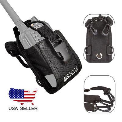 Multi-function Nylon Case Bag for Baofeng Kenwood Motorola Two-way Radio MSC-20B