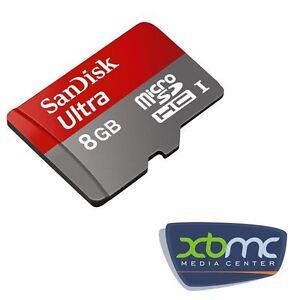Raspberry Pi 8GB Micro SD Card Preloaded with KODI/XBMC OS