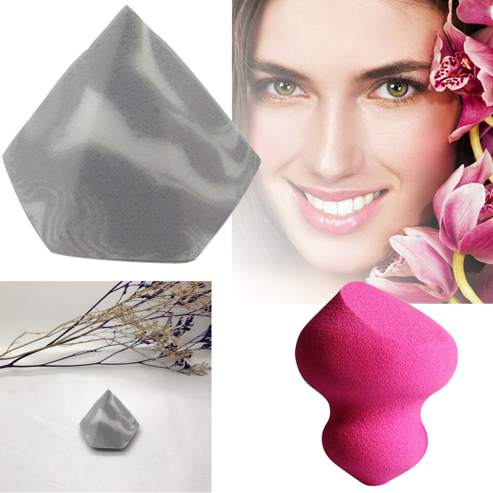 Diamond Shape Face Sponge Mixer Basic Puff Dry And Wet Dual Use No dead mt