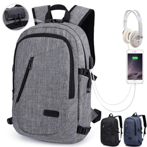 17 Zoll Oxford Tuch Herren Reiserucksack Business Laptop Computer Schultasche