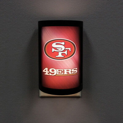 NFL San Francisco 49ers PLUG-IN LED Night Light Party Animal with Light - 49ers Party